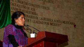 Eufrosina Cruz propone crear protocolo contra violencia política a las mujeres
