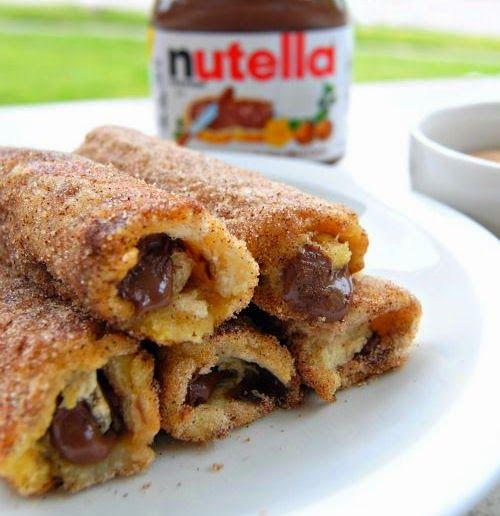 Resep Roti Goreng Coklat Pisang Manis Gulung Sederhana | Resep Kue Kering-ku :)