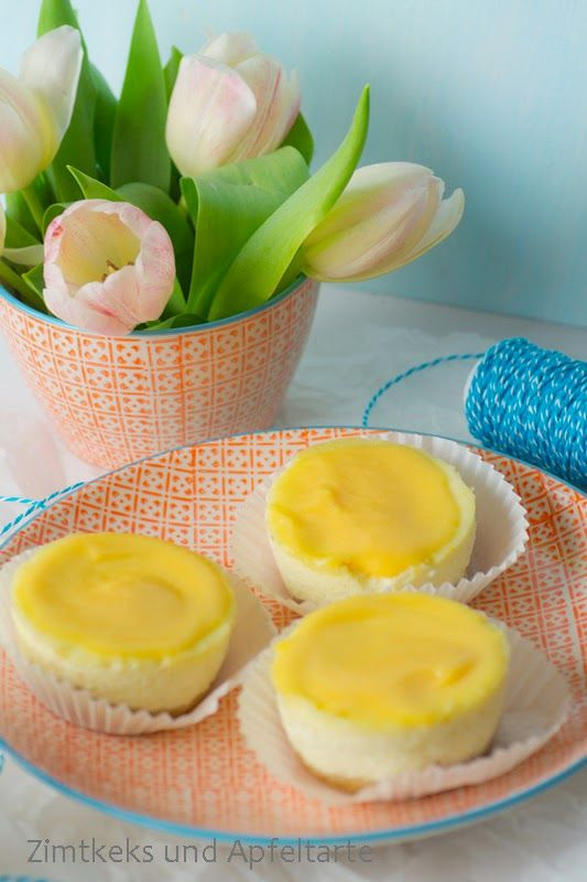 Cheesecaketörtchen mit Orangen-Curd