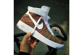 """Nike Air Force 1 Flyknit High """"Multicolor"""" Leaked Image 