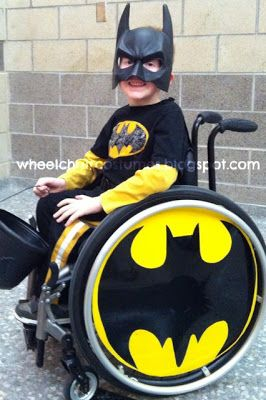 Wheelchair Costumes - Batman Rules