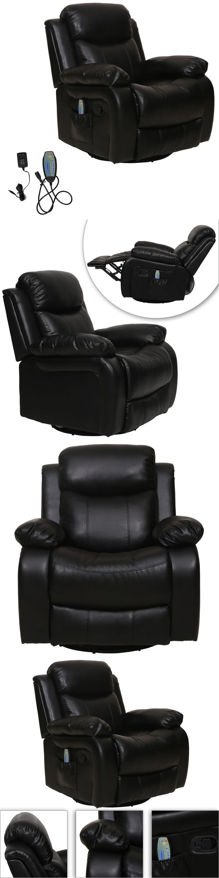 Electric Massage Chairs: Black Massage Chair Recliner Electric Deluxe Full Body Ergonomic Shiatsu Lounge -> BUY IT NOW ONLY: $269.99 on eBay!