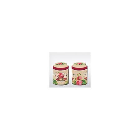"""Magic Home Емкость для сыпучих продуктов """"Чайная роза"""" 680мл, Magic Home  — 179р.  Жестяная банка с крышкой предназначена для хранения сыпучих продуктов. Банка украшена рисунком «Чайная роза», создает «аппетитное» настроение на кухне. Вместительная емкость для специй, лекарственных трав, сахара или чая плотно закрывается крышкой, продукты сохраняют свежесть и аромат, не впитывают посторонние запахи.   Дополнительная информация:  Не предназначена для мытья в посудомоечной машине.   Объем: 680…"""
