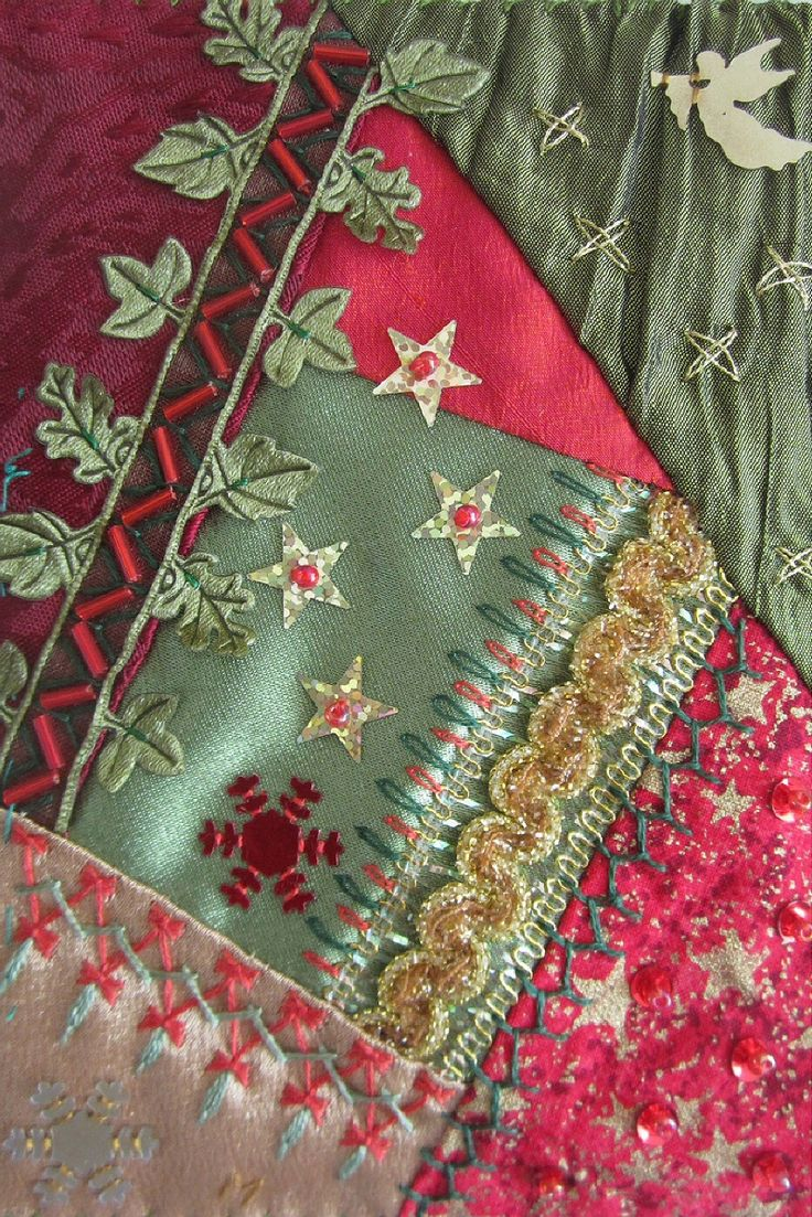 Best images about crazy quilts and lace on pinterest