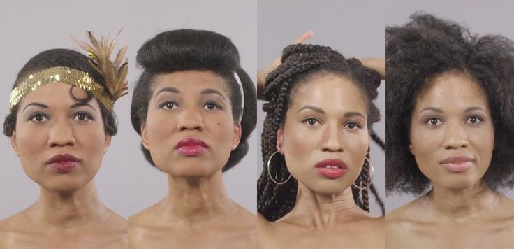 Watch 100 Years of Black Beauty Evolve in One Mesmerizing Minute