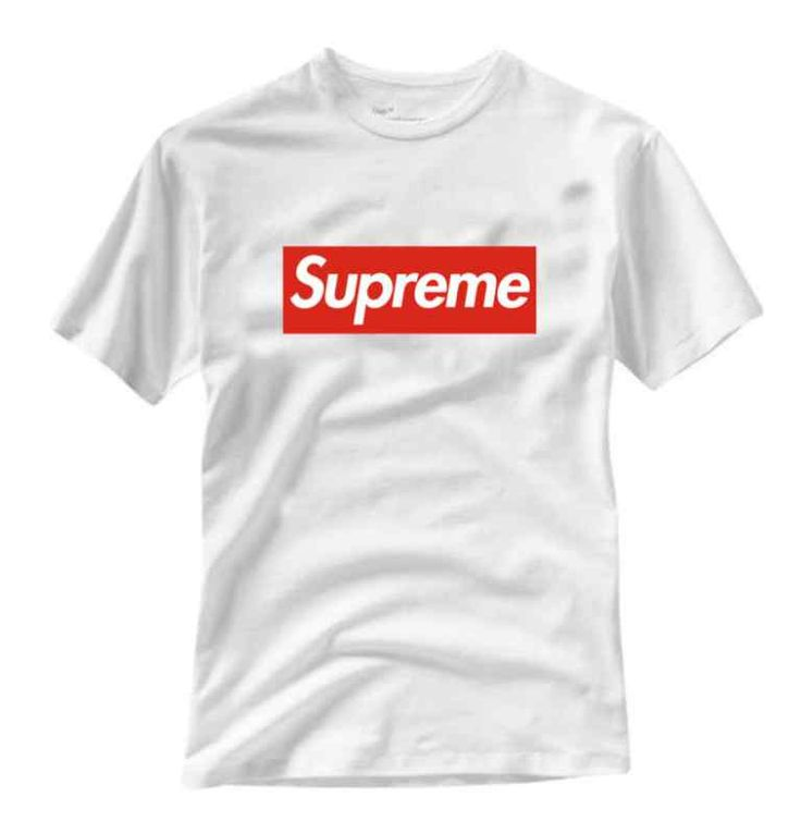 Supreme - Logo, White - T-Shirt $24.99