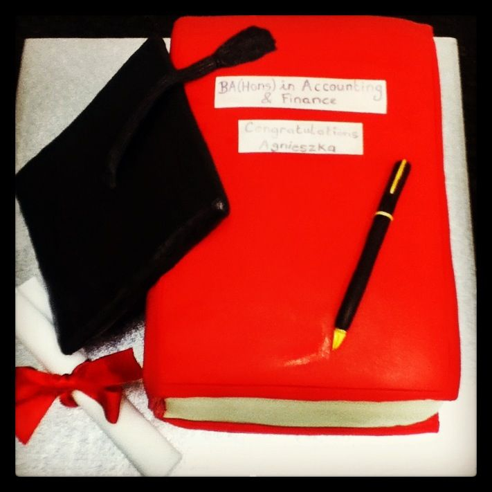 Graduation cake perfect for recent graduates to celebrate with after all their hard work# graduation #sugarcraft #college