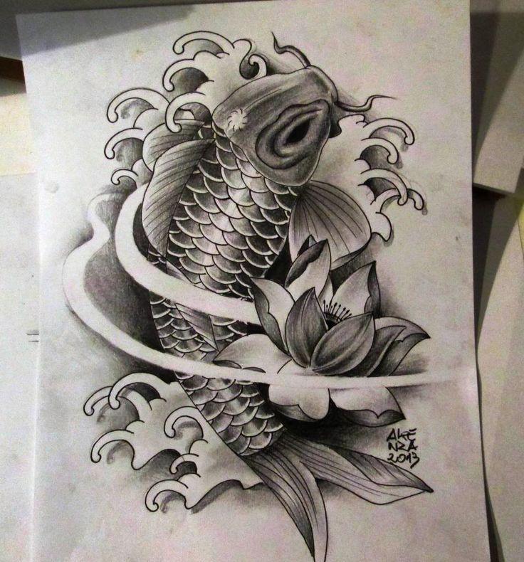Carpa Koi Tattoo Pinterest Medium And Koi