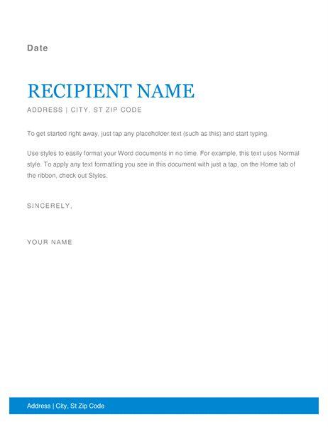 Más de 25 ideas increíbles sobre plantilla de membrete para Word - free personal letterhead templates word
