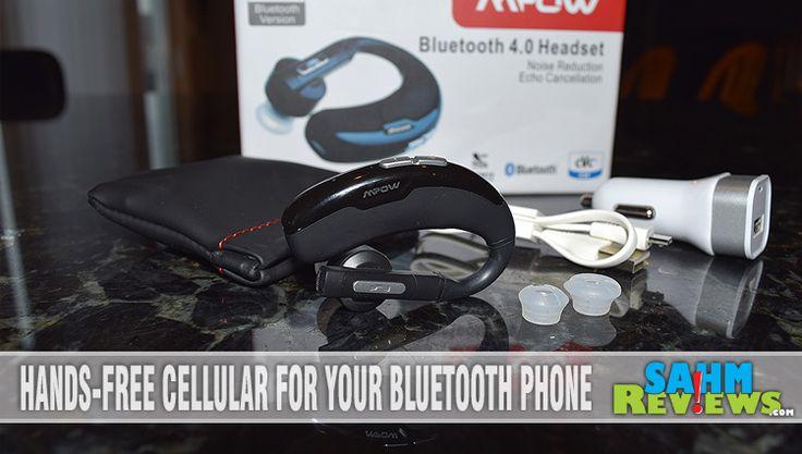 Enter to win a Lightweight Hands-free Bluetooth Headset - SahmReviews.com