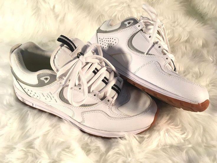 DC Shoes x Muck Mouth Josh Kalis Lite White Mens Size 10 Skateboarding Sample #DCShoes #Runner #Shoes