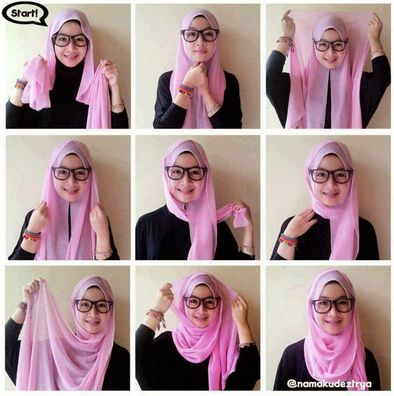 Cara Mudah Pakai Hijab Segi Empat Modern Bagi Pemula  - Bagi seseorang yang baru…