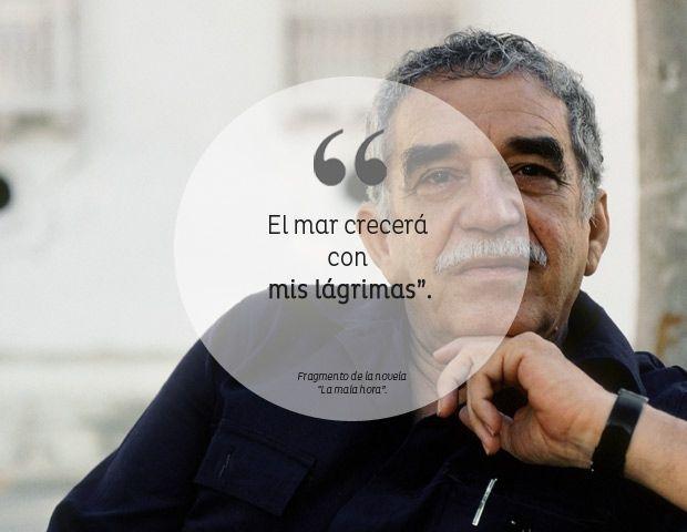 El mar crecerá con mis lágrimas. Gabriel García Márquez
