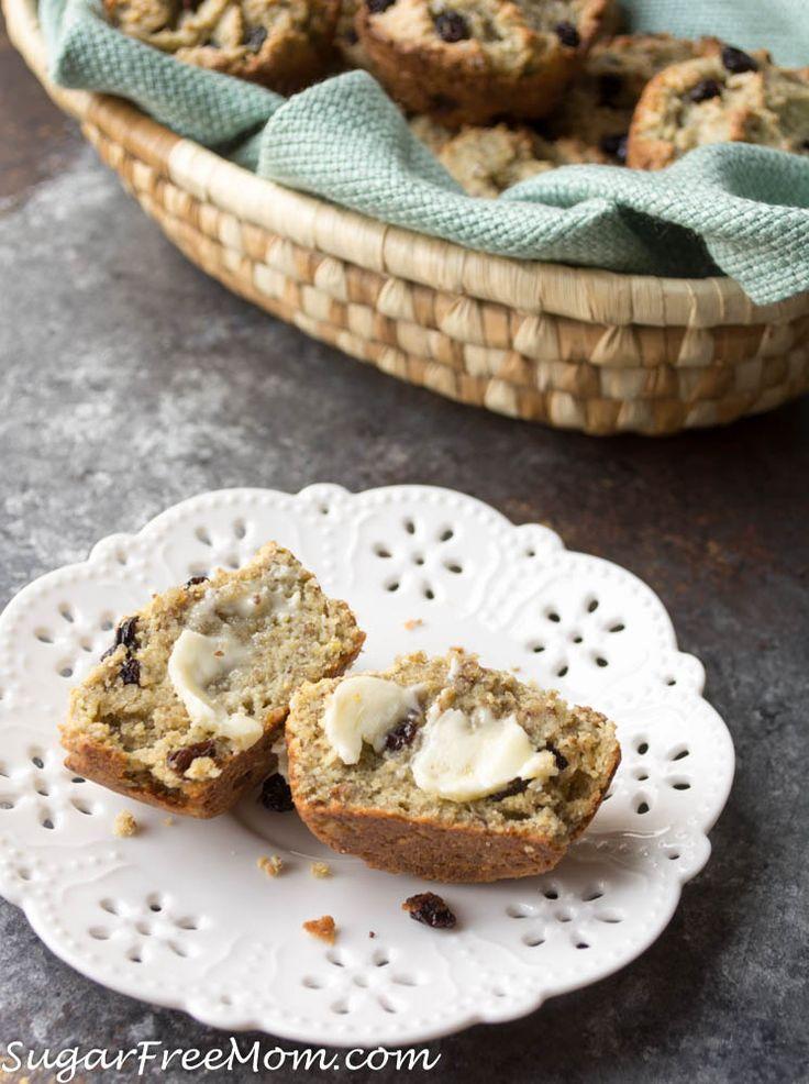 Low Carb (Nut Free) Irish Soda Bread Muffins