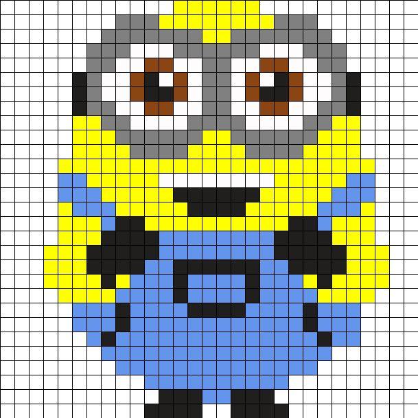 Pixel Art Minion Bob