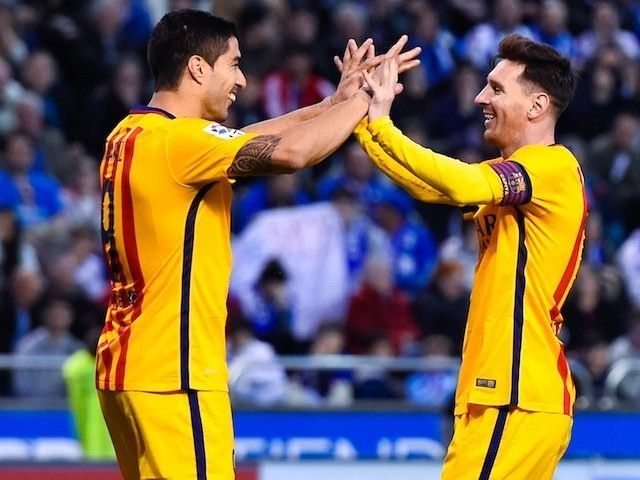 Team News: Lionel Messi, Luis Suarez start for Barcelona against Sevilla #Barcelona #Sevilla #Football