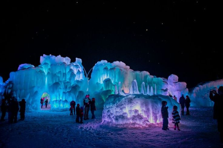 Ice Castles in Dillion, Colorado (part of Summit County and near Breckenridge) will be opening in December, just after Christmas and before the New Year.