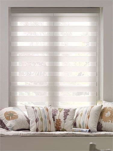Enjoy Vision White Roller Blind from Blinds 2go