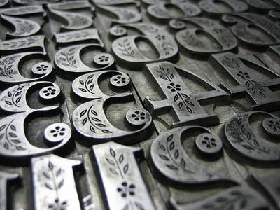 numberoftheday:    Festival Figures (by interrobang letterpress)