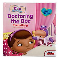 Doc McStuffins Doctoring the Doc Book and CD $9.95