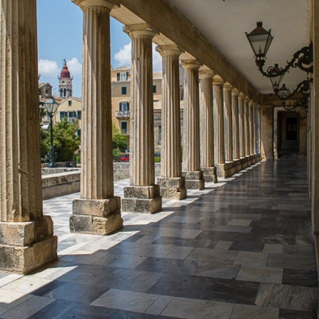 #Corfu #Architecture #Greece #culture  Photo credits: @bogushevsky_oleg
