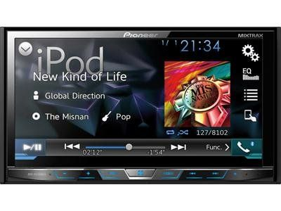 BUY NOW Pioneer AVHX5700BHS Double-DIN DVD Receiver with 7-Inch Motorized Display, Bluetooth, Siri Eyes Free, SiriusXM-Ready, HD Radio, Android Music Support, Pandora,