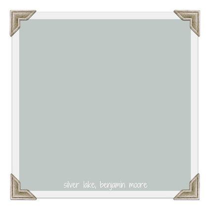 silver lake, benjamin moore #paint