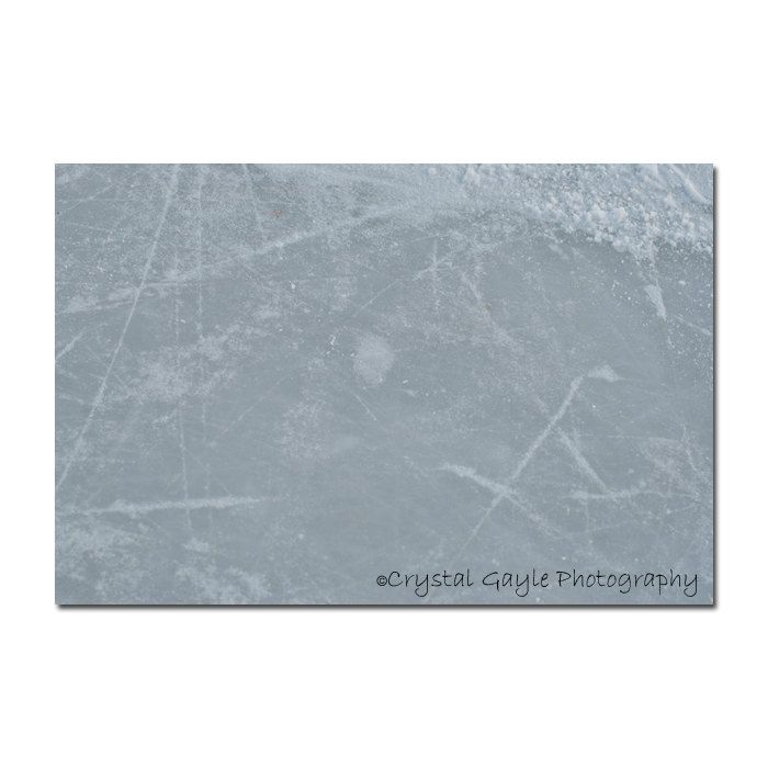 Outdoor Hockey Rink Photography  Ice Skating  Frosted Arena Lounge Decor 8x10 or 11x14 Seasonal Wall Art Accent Sports Enthusiast http://ift.tt/1SNxZaU