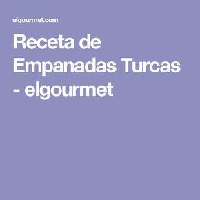 Receta de Empanadas Turcas - elgourmet