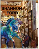 Canadian artist Shannon Ford upcoming show