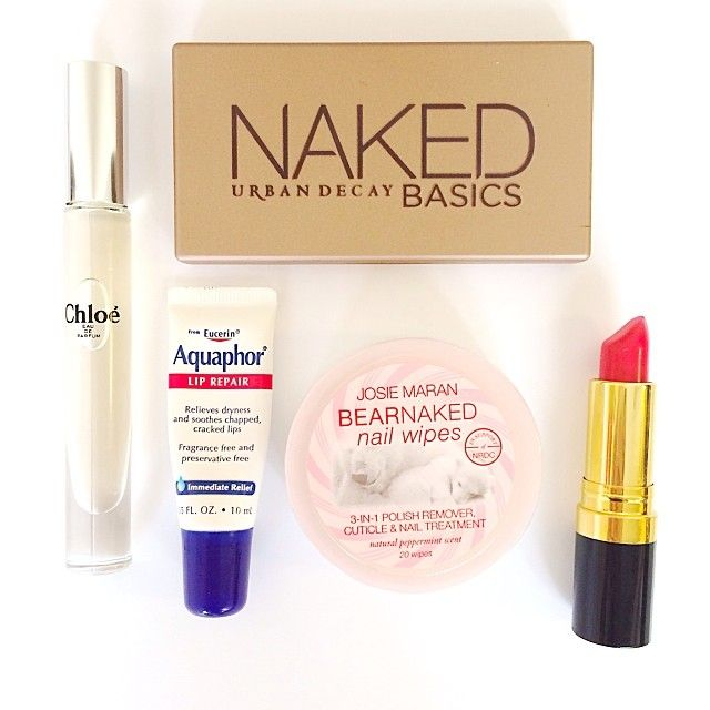#TravelBeauty essentials from @Kate Mazur McLean