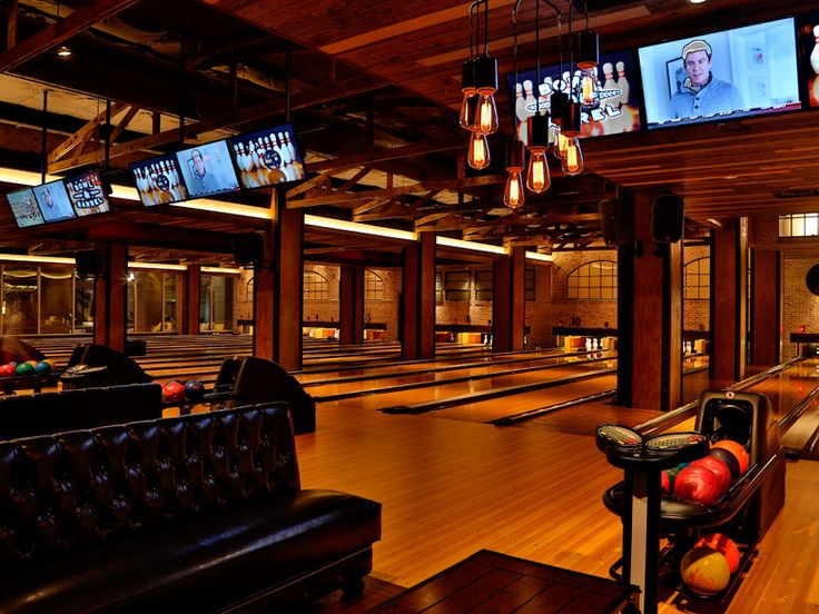 Bowl Barrel--Quite the step-up from the sweaty, dingy bowling alley with which you grew up. There are fifteen shiny lanes, a bar with local brews, and a full-service restaurant. If you're competitive, try to beat the clock on Sundays, when half-liter beers are $2 at 2 p.m., $3 at 3 p.m. — you see where this is going.