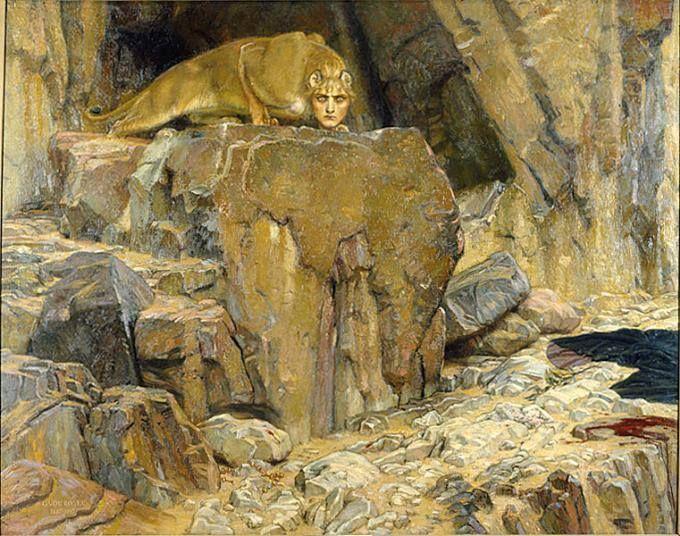 Georg von Rosen (1843-1923), The Sphinx, 1907