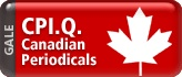 CPI.Q, the electronic version of the Canadian Periodical Index, provides the most-requested Canadian reference information available. Includes Canadian and international periodicals such as The Globe and Mail, Maclean's weekly magazine, and Canadian News Facts. Bilingual interface (English and French) [Gale]