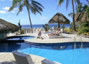 Club Raro in the Cook Islands is a fun and relaxed resort.