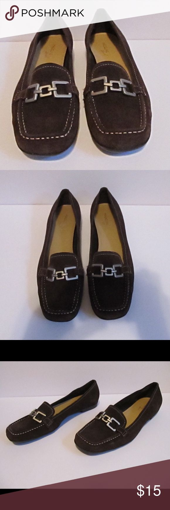 New Madeline Stuart Brown Suede Loafers Great condition only been worn around the house! Super comfy and can be worn with so many outfits! No flaws! Ready to ship and bundle! Size 11 Madeline Stuart Shoes Flats & Loafers