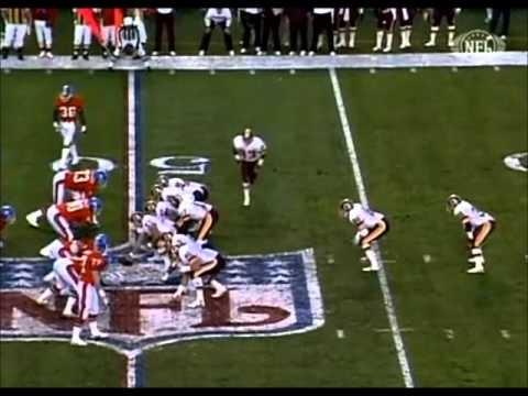 The Redskins score a record 35 points in the 2nd quarter on their way to a 42-10 victory over the Broncos in Super Bowl XXII.
