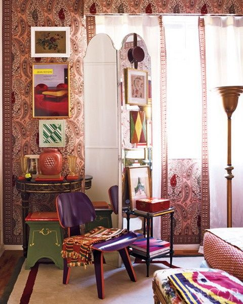 17 best ideas about hippie style rooms on pinterest - Dormitorios vintage chic ...