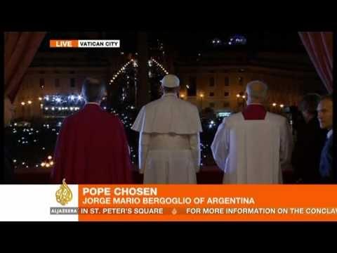 Argentina's Cardinal Bergoglio chooses name Pope Francis I