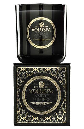Voluspa 'Maison Noir - Ambre Lumiere' Scented Candle | Nordstrom