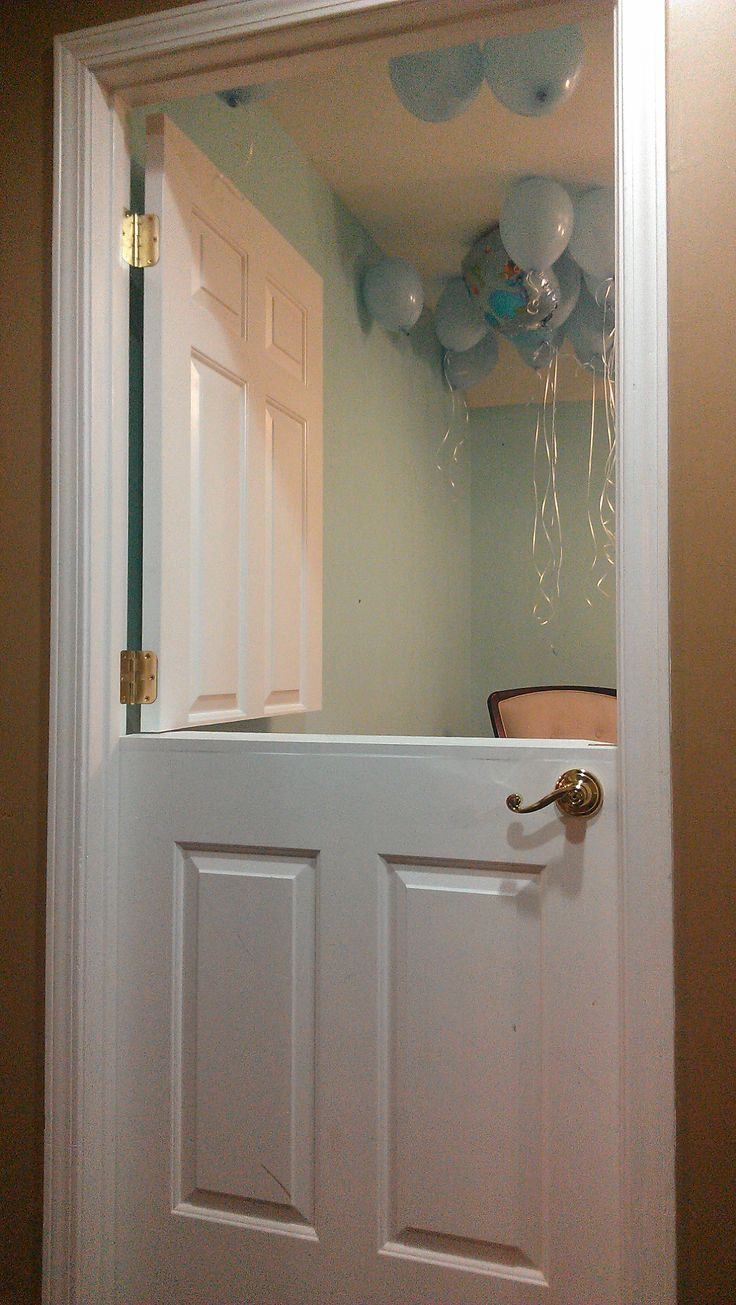 Diy Nursery Kids Room Half Dutch Door Made From The