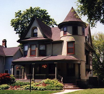 A Victorian house in Evanston, Illinois. Photo by Galena (via Flickr).: Victorian House, Dreams Houses, Photography Landscape, Photography Editing, Dream House, Ictorian Houses, Adequ Houses, Future House I, Houses I