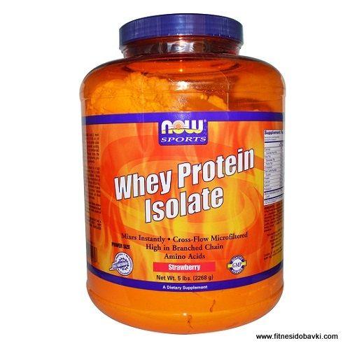 Купи Now Whey Protein Isolate на ниска цена от онлайн магазин Фитнес и Добавки. Суроватъчен протеин на ниска цена на fitnesidobavki.com.
