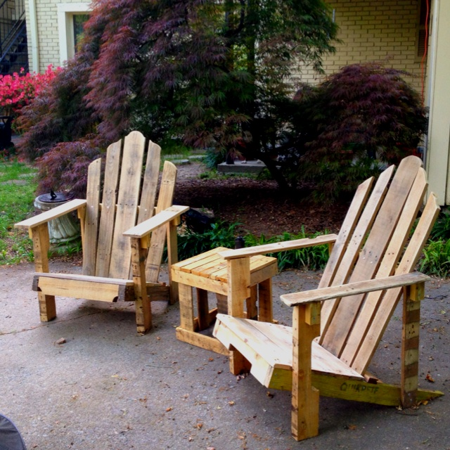 Outdoor Patio Furniture Made From Pallets 90 best diy patio/deck furniture images on pinterest | diy patio