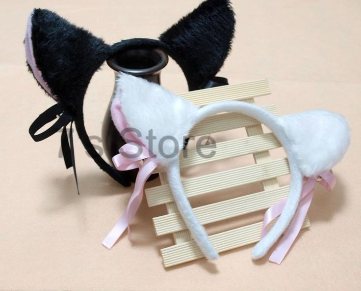 how to make cat ears headband with felt