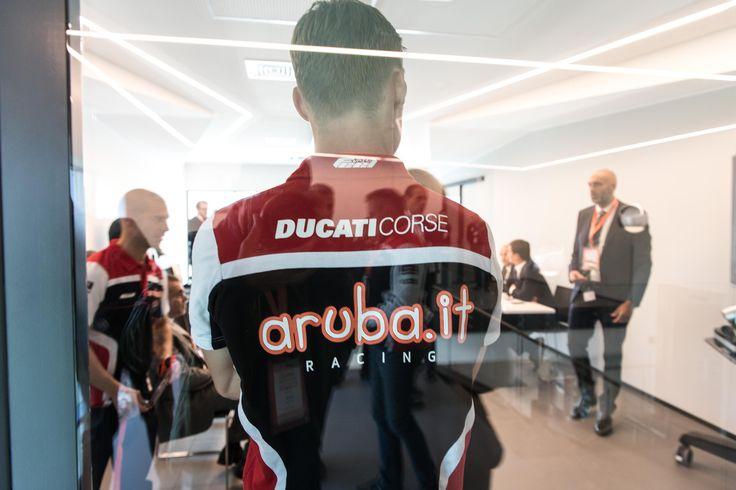 Anche Aruba.it Racing - Ducati al data center