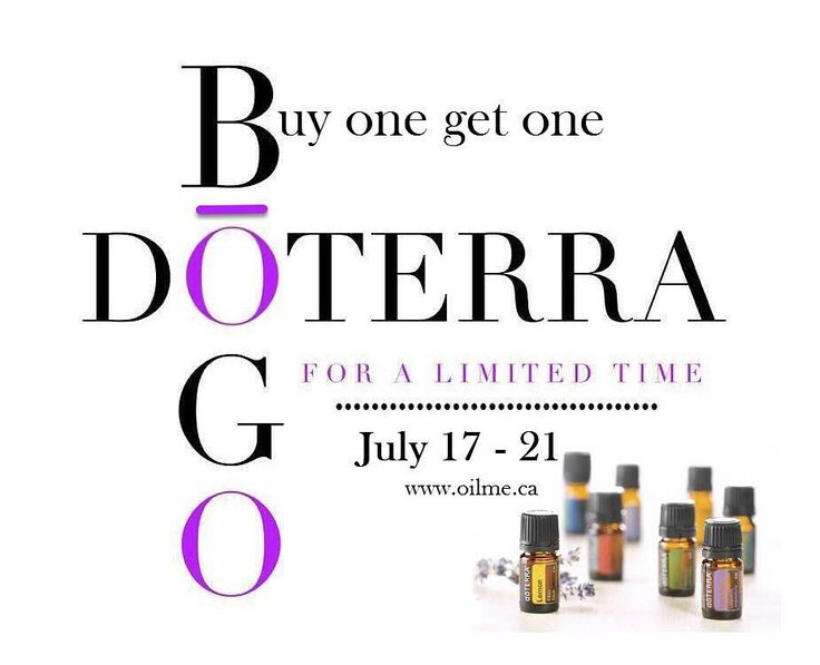 doTERRA's BOGO (Buy one Get one) week is BACK!!  This only happens twice a year. There will be a NEW 24 hour deal every day Monday-Friday this coming week July 17 - 21. BOGO's offer the absolute best savings EVER! Truthfully doTERRA Essential Oils have completely changed the way we do life around here. I would love for you to experience how they can do the same for you! Want to participate in these deals with FREE or super cheap shipping? If you are not working with some one in doTERRA or…