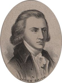 James Smith    signer of the United States Declaration of Independence