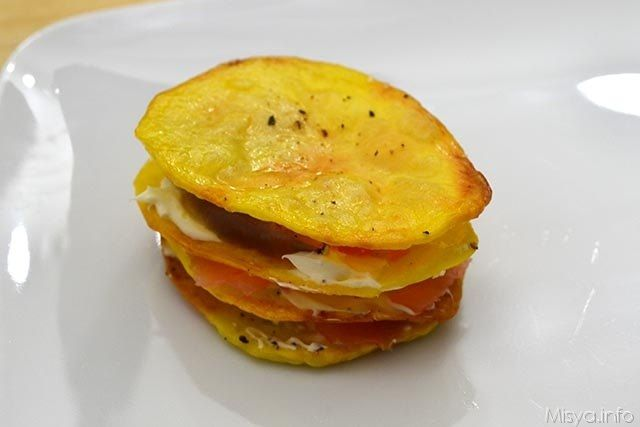 8 terzo strato patata