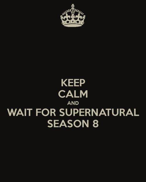 "What is this ""Keep Calm"" you speak of?!?!Saving People, Things Supernatural, Netflix Till, Calm Things, Supernatural 3333, Hunting Things, Wayward Sons, People Hunting, Vampires Rules"